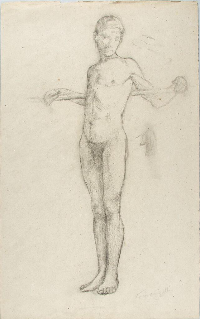 Male Nude Figure Study