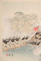 Great Victory For The Japanese Army At P'yōng Yang (Nichigun Heijō Taisho No Zu)