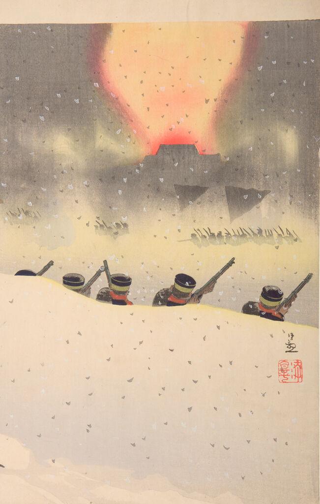 Hyaku-Shaku Gaisho Kōgeki No Zu