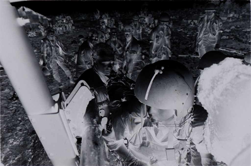 Untitled (Members Of 57Th Medical Detachment Loading Wounded Soldiers Into Medevac Helicopter, Vietnam)