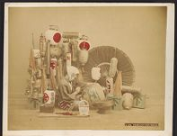 Work 20 of 27 Title: Paper-lantern maker Date: ca. 1888