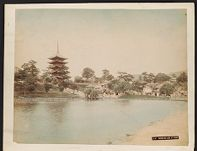 Work 21 of 27 Title: Sarusawa Lake at Nara Date: ca. 1888