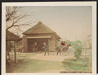 Work 22 of 27 Title: Country house near Tokio Date: ca. 1880