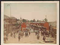 Work 24 of 27 Title: View of Asakusa, Tokyo Date: ca. 1888