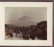 Work 2 of 26 Title: Fuji from Yuwabuchi Creator: Kajima, Seibei Date: 188-?