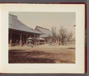 Work 7 of 26 Title: Neshe Honaange Temple [i.e. Nishi Hongan... Date: 188-?