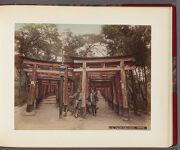 Work 12 of 26 Title: Fushimi Inari, Kioto. Shinto Date: ca. 1890