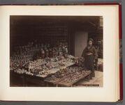 Work 19 of 26 Title: Earthen[ware] store, Shimzu, Kioto Date: ca. 1890