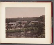 Work 23 of 26 Title: Yaami Hotel at Maruyama, Kioto Date: ca. 1890