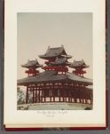 Work 26 of 26 Title: Buddhist temple, Kyoto Date: ca. 1890
