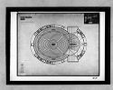Total Theatre For Erwin Piscator, Berlin, 1927: Example 2, Central Stage: Floor Plan And Interior Perspective