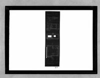 Standardized Housing, Buenos Aires, 1931-1932: Plan, Elevation, Section, And Detail, 1:10, 1:50