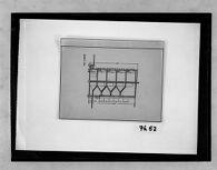 Studies from Gropius' Berlin Office: Section, 1:100