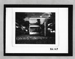 Gropius Residence, Lincoln, Massachusetts, 1938: Duplicate Of Brga.82.109