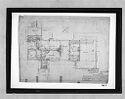 Frank Residence, Pittsburgh, Pennsylvania, 1939-1940: First Floor Plan (1/4