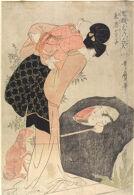 Priest Huiyuan (Eon Hōshi), from the series Three Laughers at Children's Playful Spirits (Kokei ni sanshō)