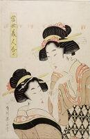 Comparing Modern Women (Tōsei Bijin Awase)