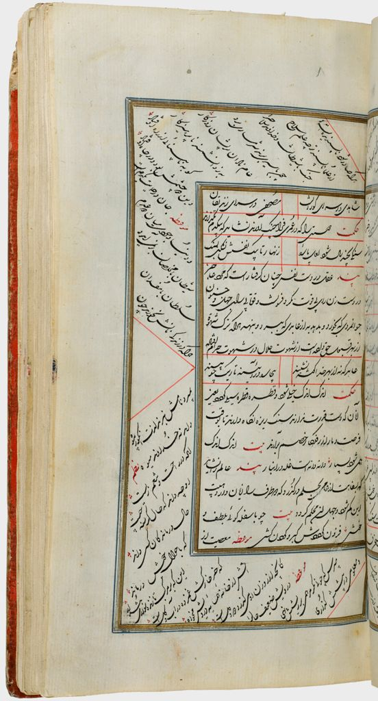 Gulistan (Recto), Folio 47 From A Manuscript Of The Complete Works Of Sa`di