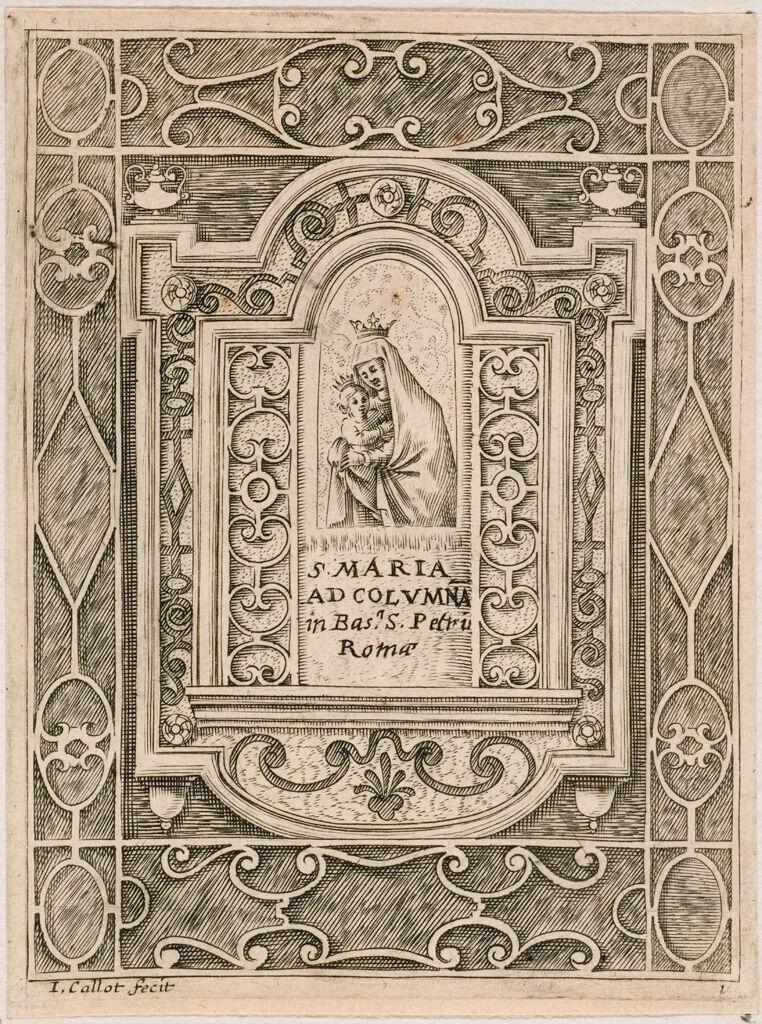 Virgin Of The Column