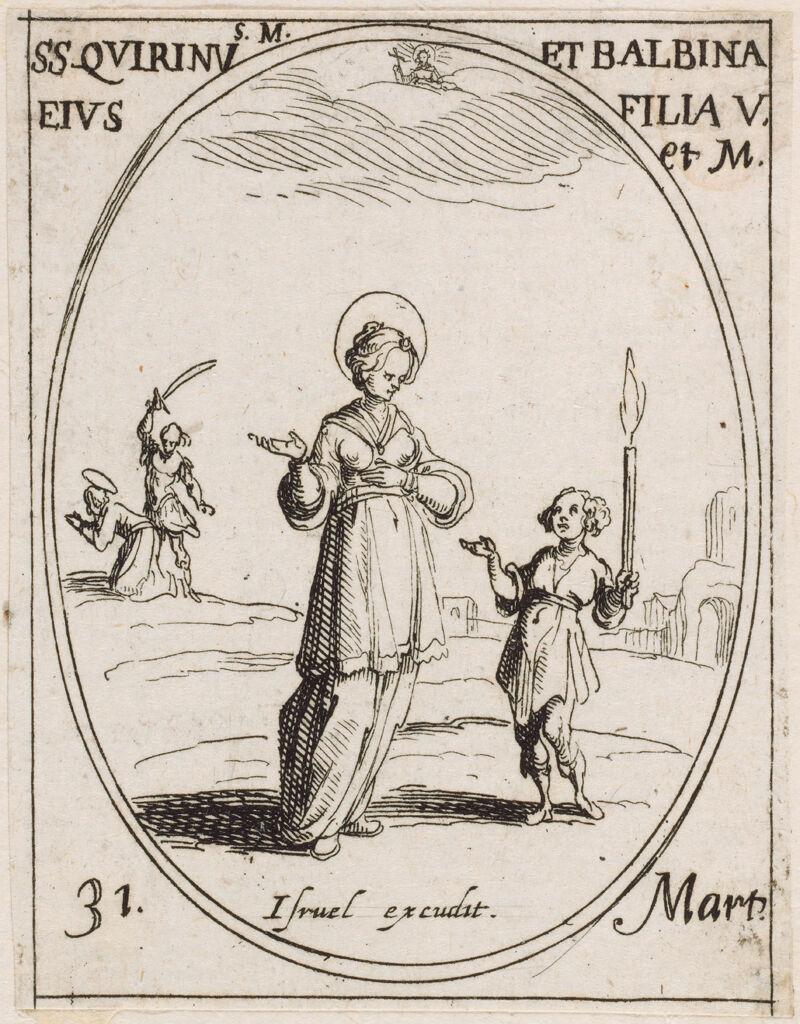 Saints Quirin And Balbina