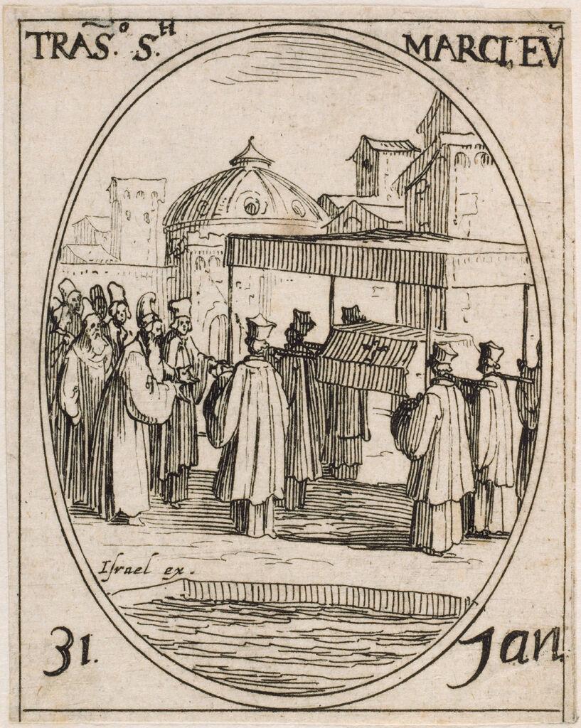 Translation Of The Body Of Saint Mark