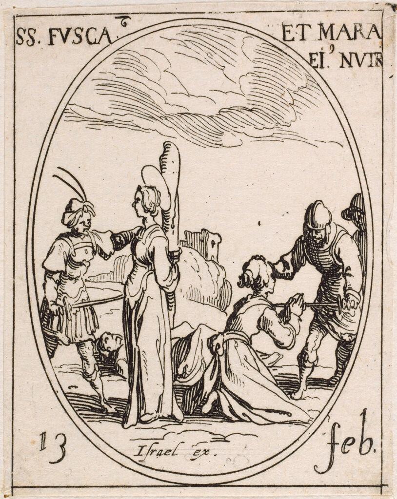 Saints Fusca And Maura