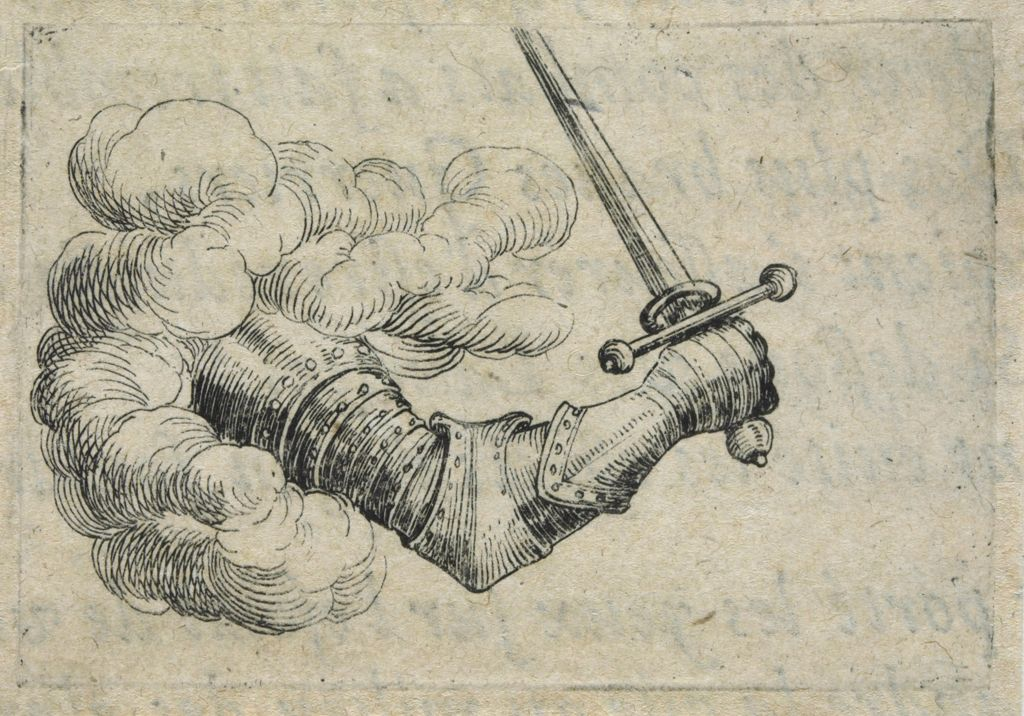 Armored Arm Holding Sword