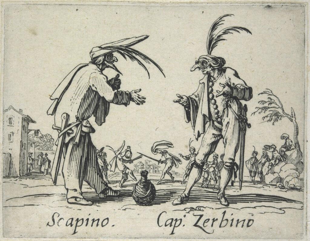 Scapino And Captain Zerbino