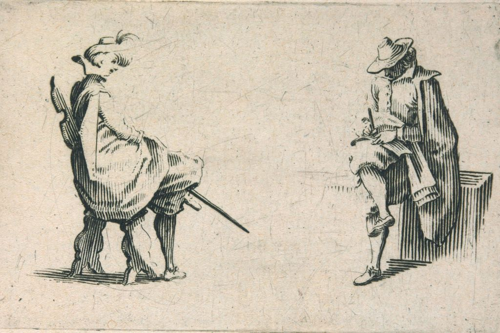 Two Men, Seated