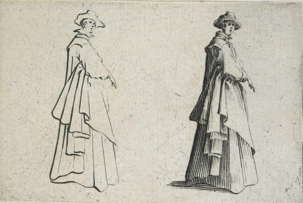 Woman With A Full Dress