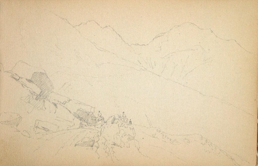 Landscape; Partial Mountain Landscape