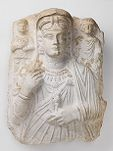 Funerary Relief of a Woman and Two Children