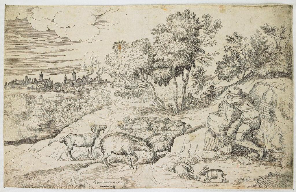 Landscape With A Swineherd