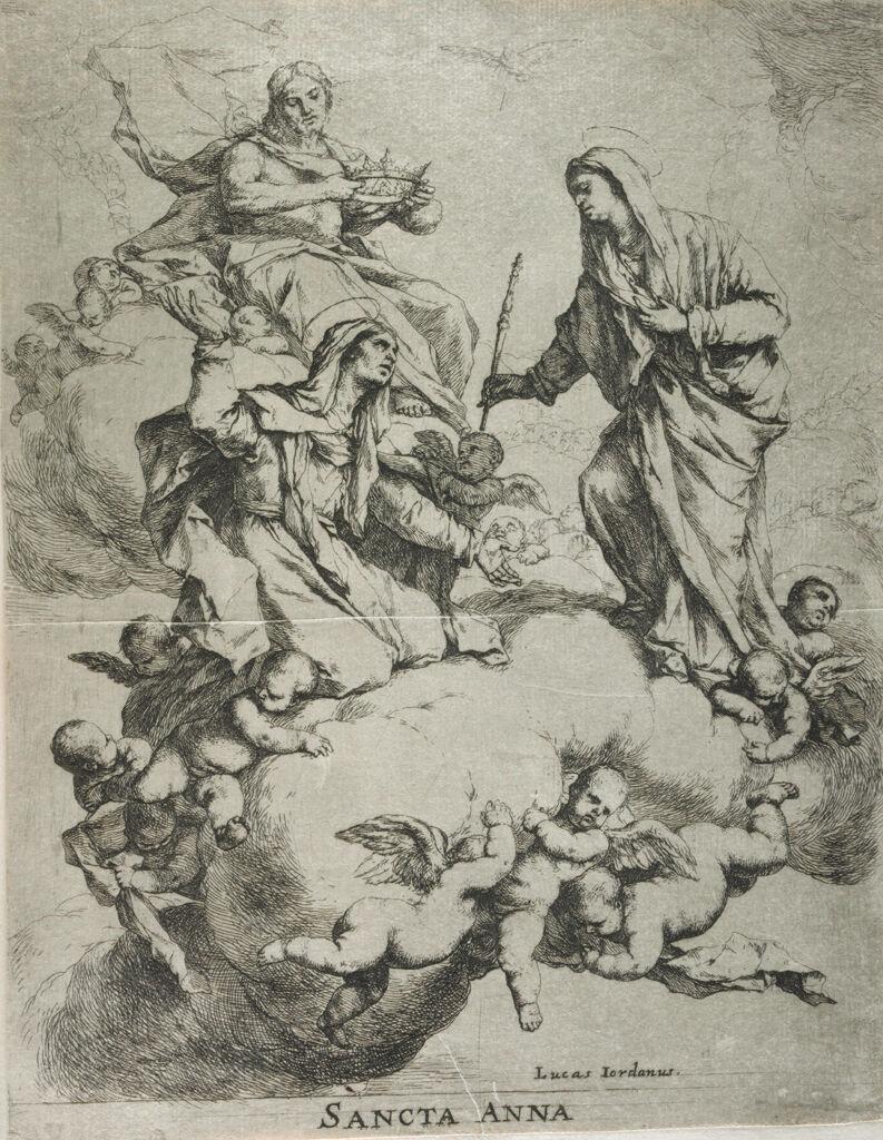 Christ, The Virgin, And Saint Anne