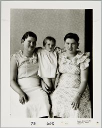 Untitled (Two Women With Child, Lockhart, Texas)