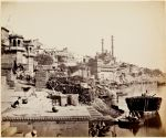 Benares, the Great Mosque of Arungzebe (and Adjoining Ghats)