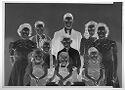 Untitled (Studio Portrait Of Ten Siblings Of Various Ages)