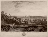 A View Of Oxford From The Abingdon Road