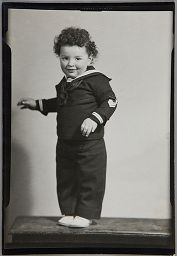 Untitled (Young Child In Sailor Suit)