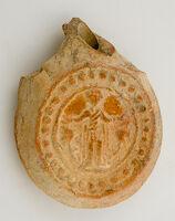 Pilgrim Flask With Scenes Of St. Menas