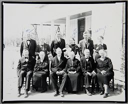 Untitled (Owen Family: Baby With Twelve Grandparents)