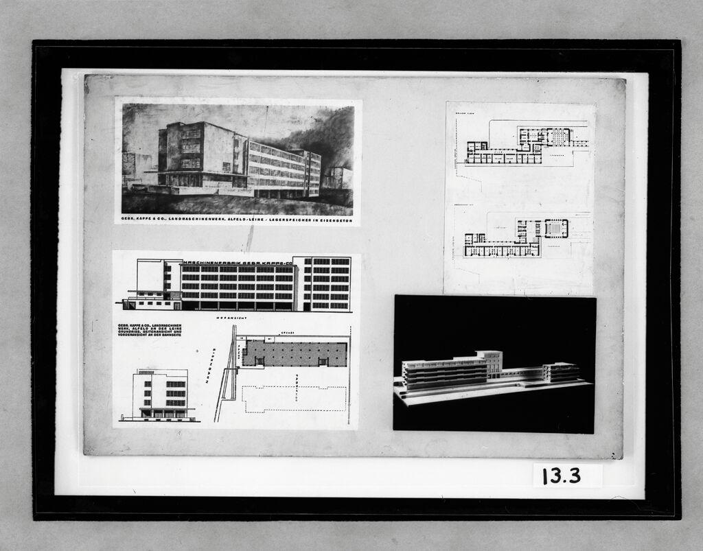 Kappe company factory warehouse alfeld a d leine 1922 1924
