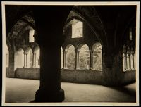 Untitled (Vaulted Passage With Arched Windows Looking Out To Trees, Brixen Cathedral, Brixen Im Thale, Austria)