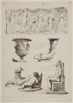 Frieze of Five Dancing Women, Vase Decorated with Male Heads, Rhyton with a Bull's Head, Statue of a Child Milking a Goat, Anubis Seated