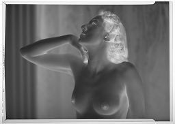 Untitled (Portrait Of A Nude Woman, One Elbow Raised)