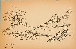 Untitled [Western Landscape]; Verso: Untitled [Mountains]