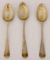 Set Of Three Teaspoons