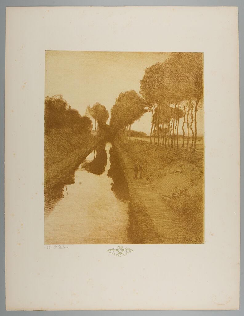 Landscape, Remarque: Bat