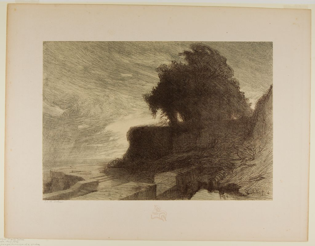 Landscape, Remarque Of A Snake