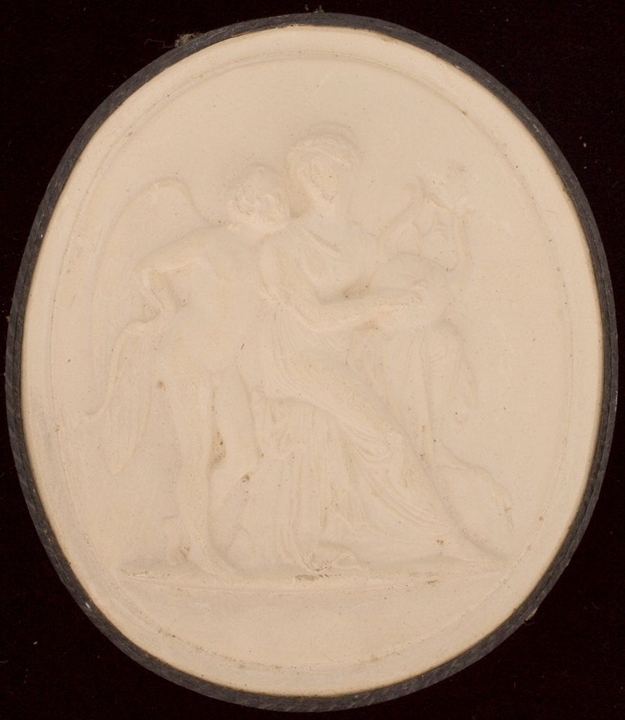 Erato And Cupid, After Thorwaldsen